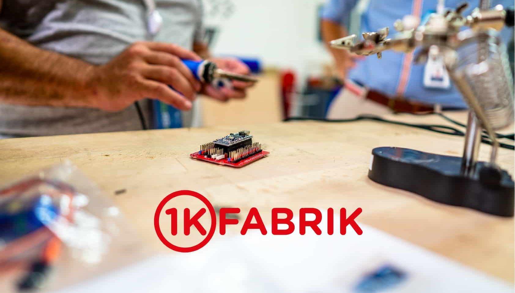 programme 1KFABRIK startup IOT
