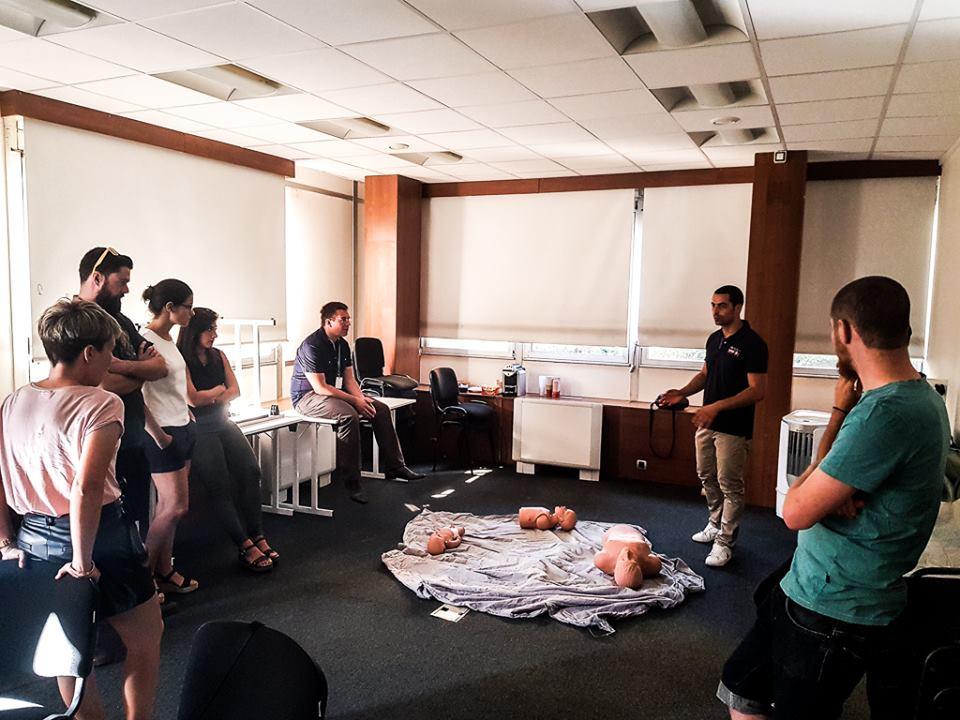 Atelier premier secours - Bel Air Camp png