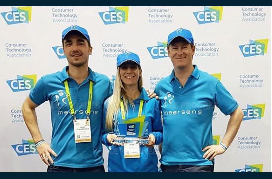 Meersens : gardien de votre santé - Louis Stockreisser, Julie Fessy et Morane Rey-Huet, l'équipe de Meersens