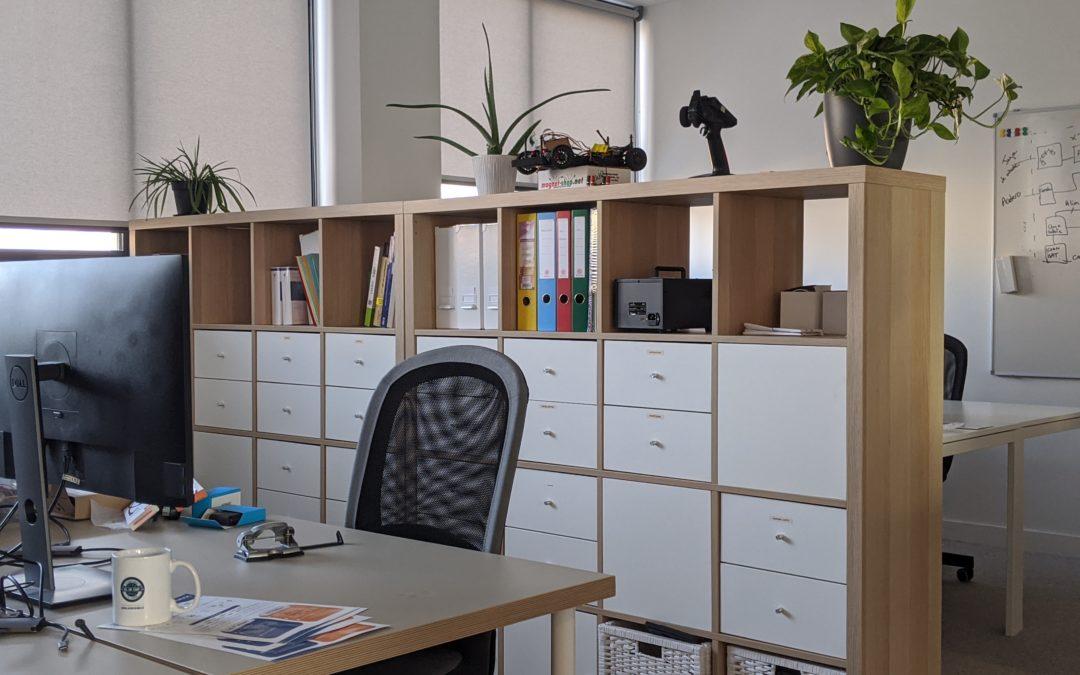 Bureau privatif confortable – jusqu'à 7 postes