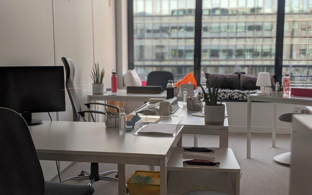 Bureau privatif – jusqu'à 4 postes