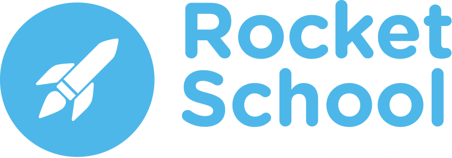 Rocket School logo png - membre Bel Air Camp