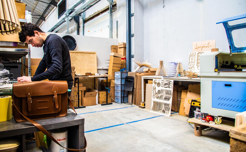 Petit atelier ouvert de 23m² à 74m² à Bel Air Industrie | Bel Air Camp
