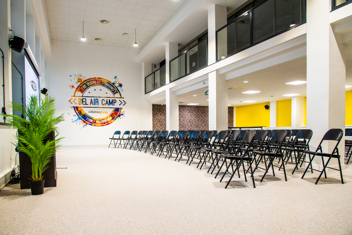Chez Moziah ! - Louer une salle de réunion / espace événementiel à Lyon Villeurbanne | Bel Air Camp