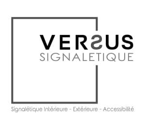 Versus signalétique logo - ancien membre bel air camp